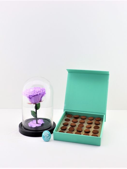 INFINITY LAVENDER AND TRUFFLES CHOCOLATE