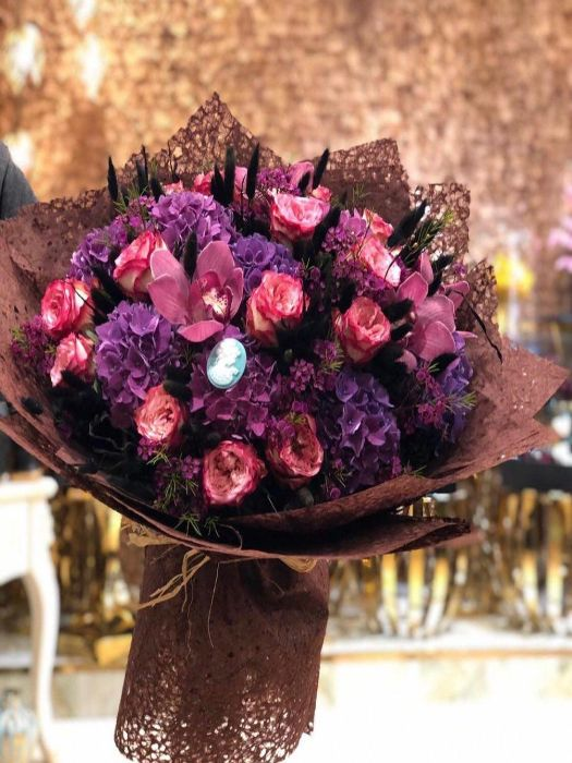 Special  Bouquet Filled With Special Flowers